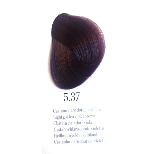 ab12a3ff11f8 Tinte Natura Color 5.37 Castaño Claro Dorado Violeta 60 ml